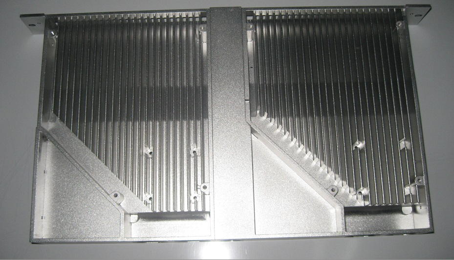 Cnc machined heat sinks for Ford, Damler, AUDI, TOYOTA automotive car parts or air conditioner
