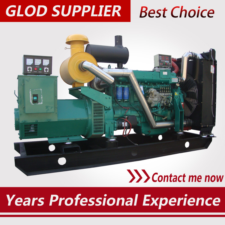 weichai 200kw diesel generator 220kw 250kva prime output brushless alternator