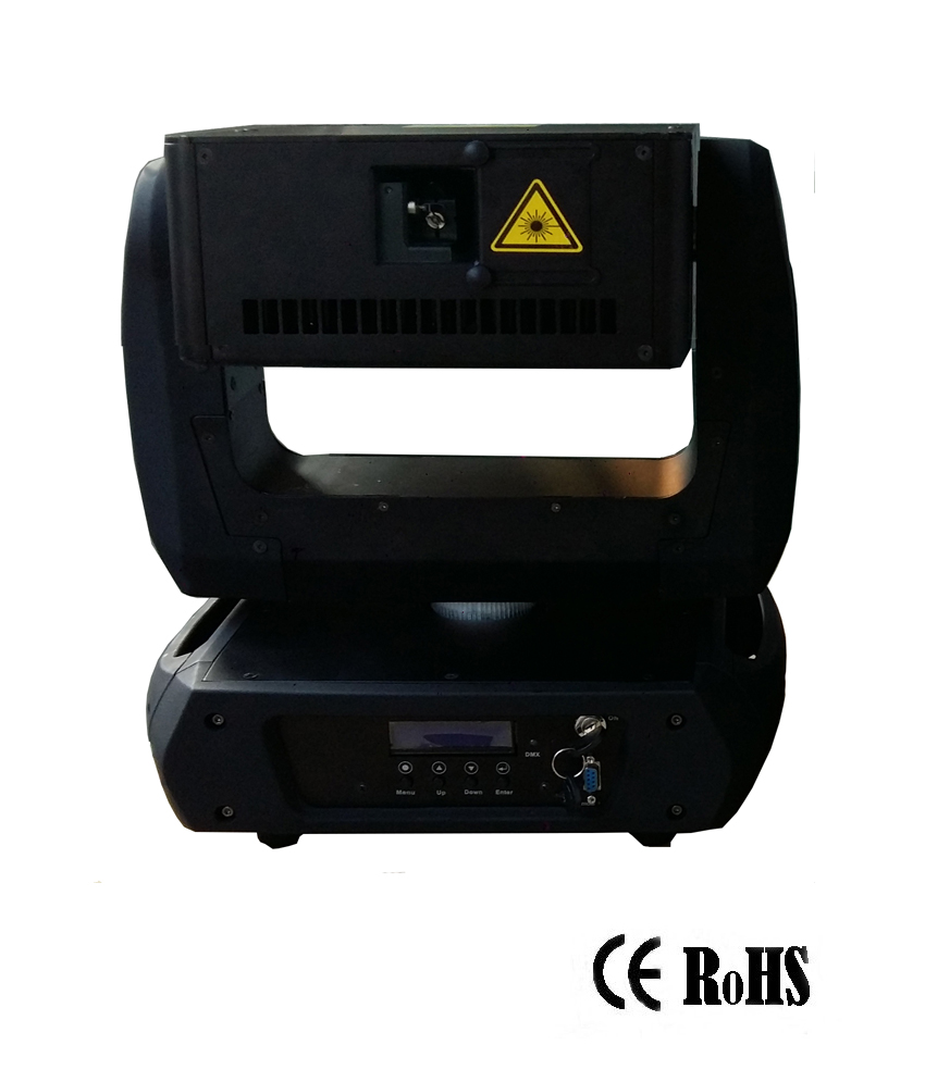 5W Green Moving Head Animation laser light for stage