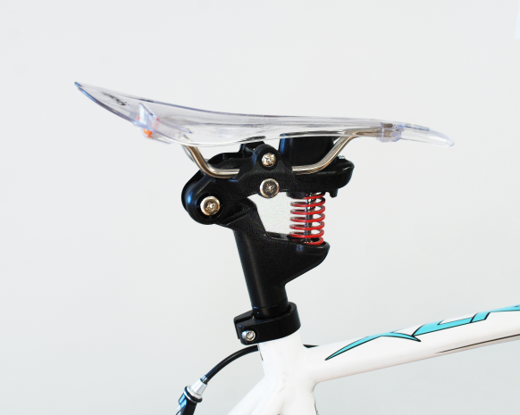 Sangle-fit that automatically adjust your saddle angle while riding