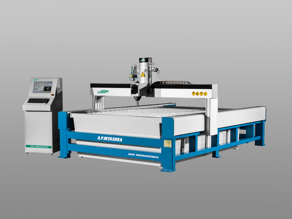 Chinese newest waterjet cnc cutting machine