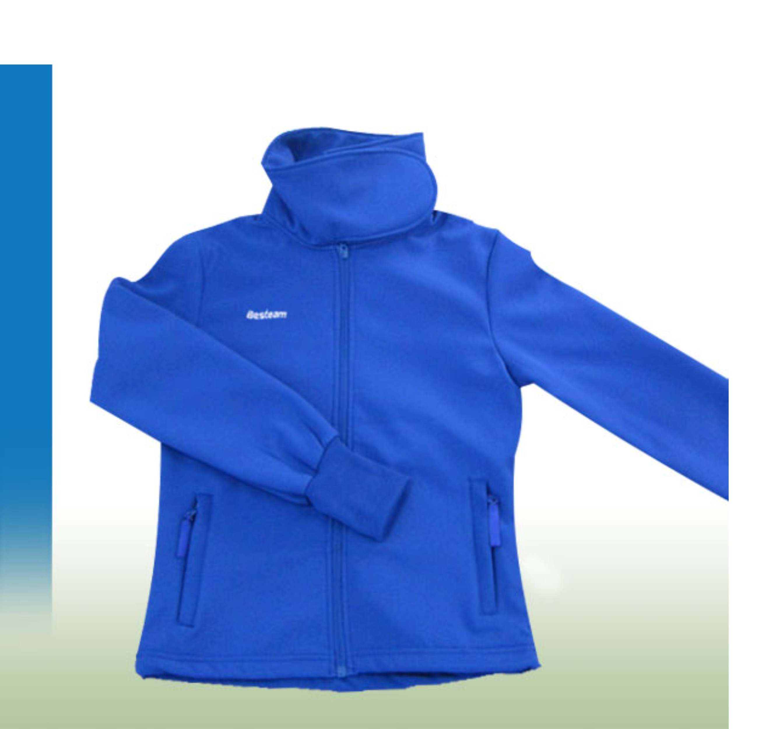 MENS AND WOMENS SOFT SHELL NAVY BLUE WATERPROOF COATS