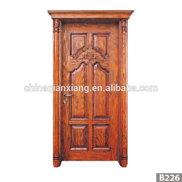 Wholesale Fashionable Design MDF Door, Newest Wooden Interior Veneer Door