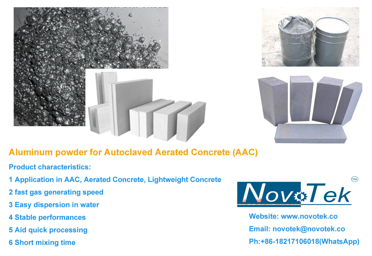 aluminum for cellular concrete