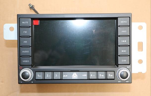 Original Sinotruk howo truck parts radio WG9918780001