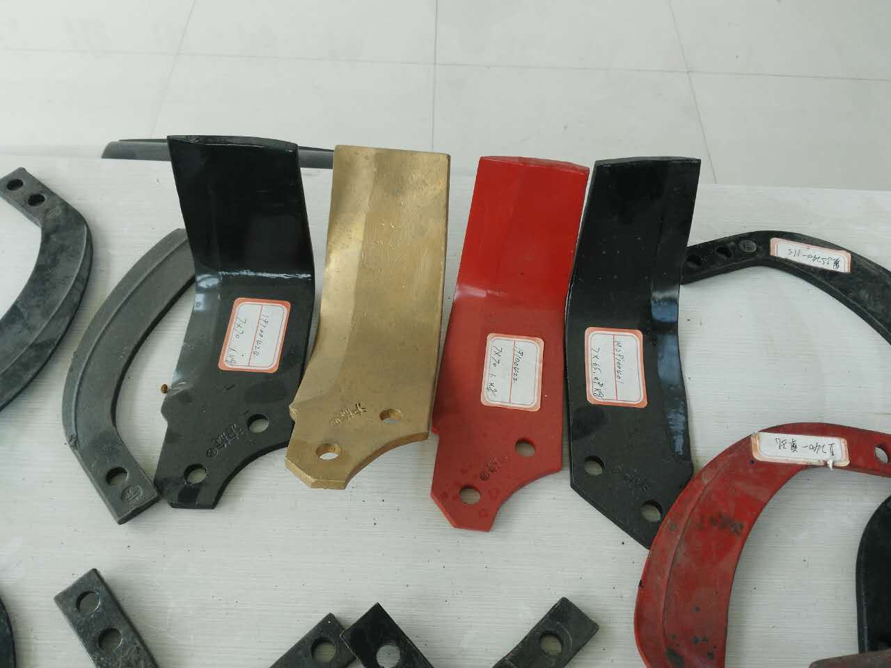 Rotary cultivator parts Tiller blade