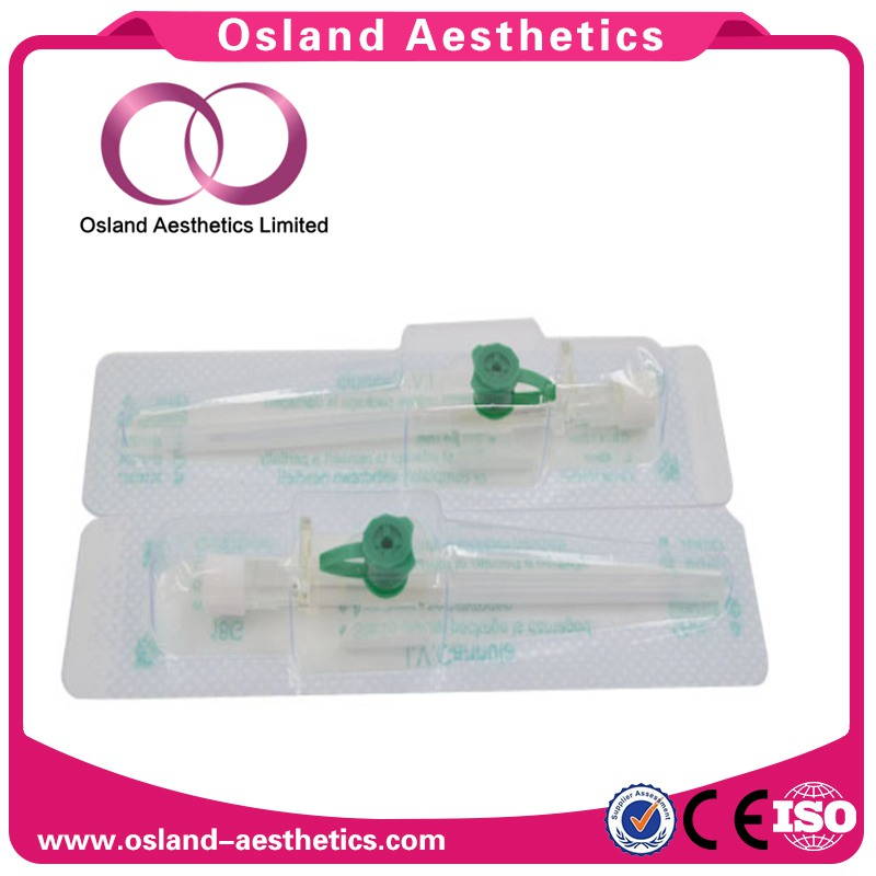 Intravenous Safety I.V. Cannula with Wings Disposable Medical Needles
