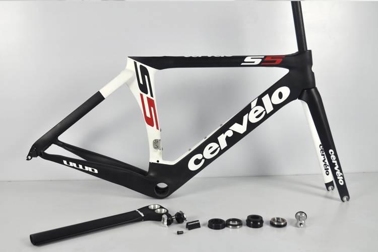 Cervelo S5 Team VWD Full Carbon Fiber Road Bike Frame Fork Seatpost ...