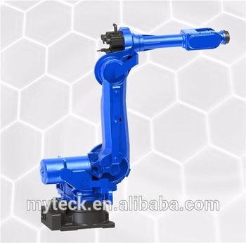 High efficiency robotic arm palletizing machine 6 axis for 165kg load