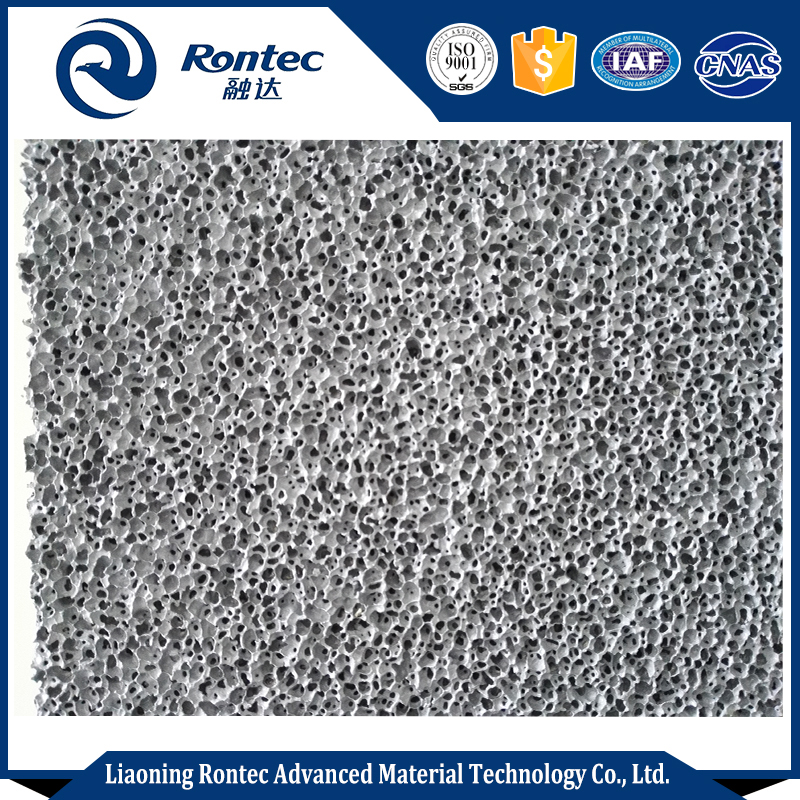 open cell aluminum foam panel for sound absorbing