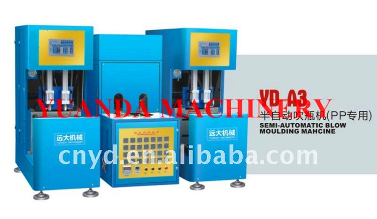 YD-A8 semi-automatic blow moulding machine