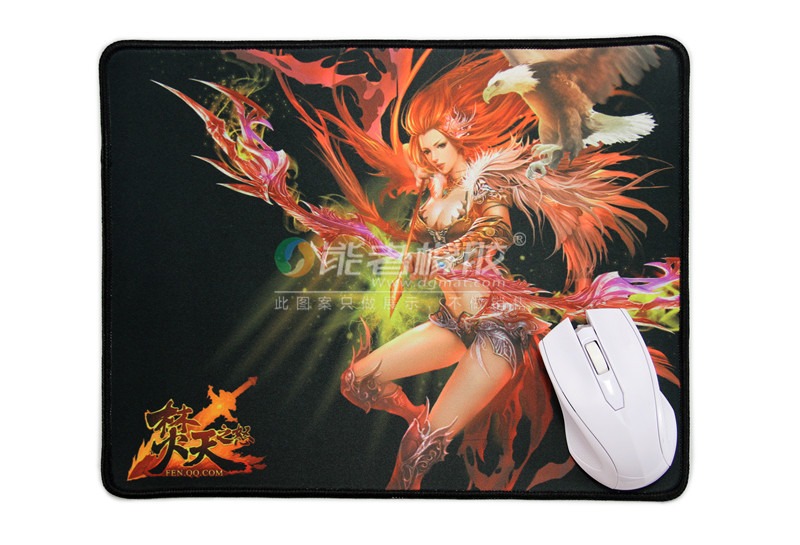 2017 new design big printed pc mouse pad keyboard playmat for officer