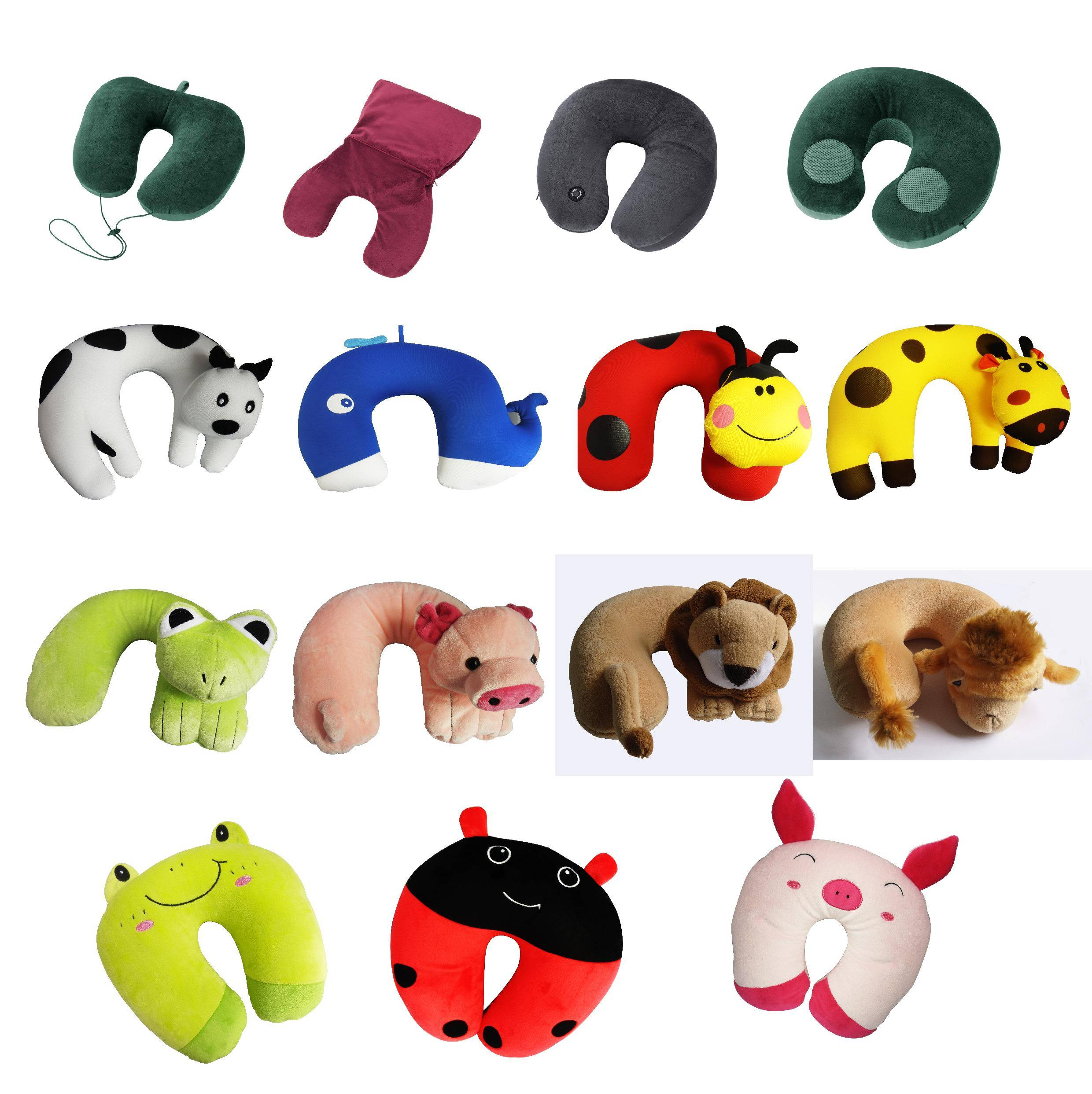 Animal Travel Pillow : Micro-beads Travel Pillow Animal Travel Pillow - Travelwind CO.,LTD. - ecplaza.net