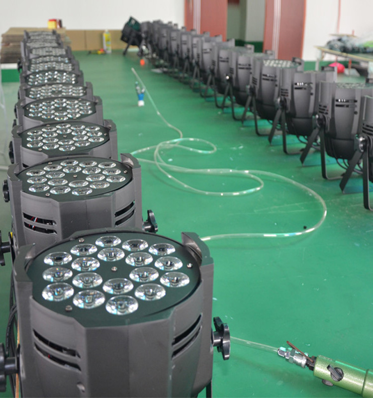 1810w rgbw 4in1 led par stage light