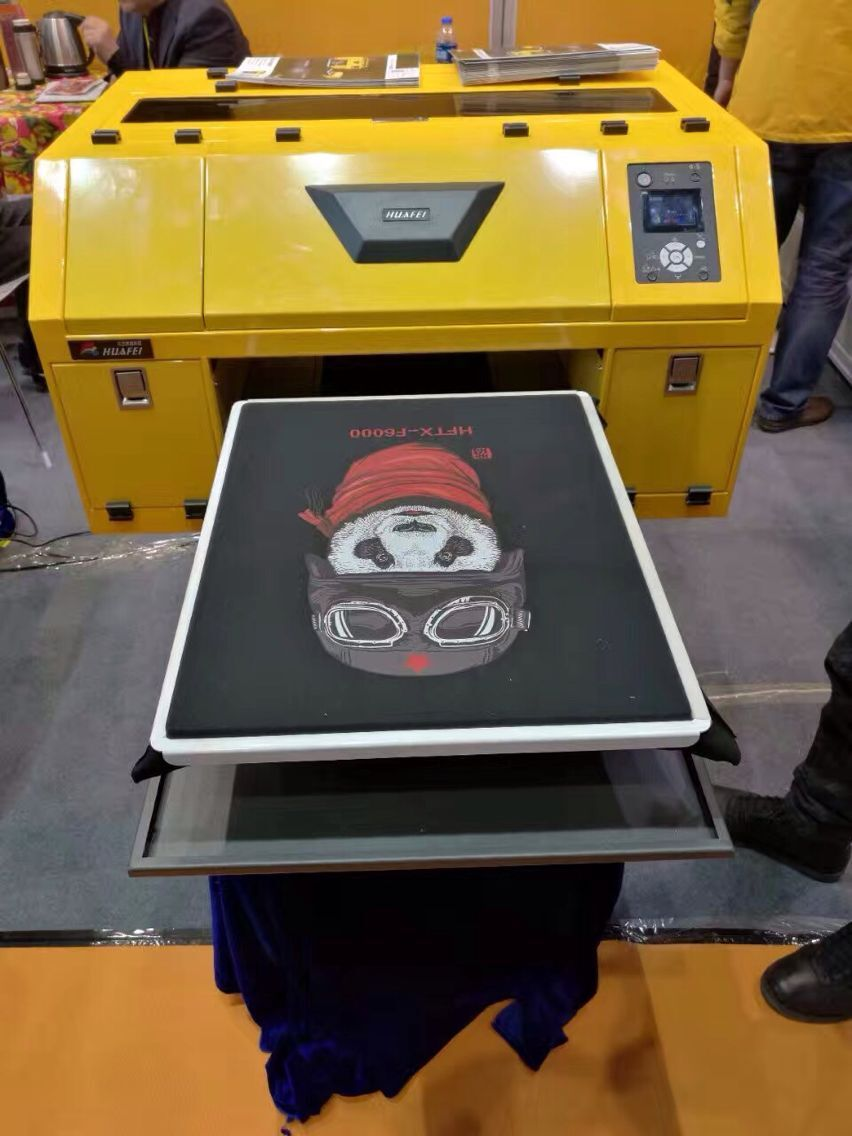 Best selling digital textile printer/clothes printing machine/flatbed 3d t-shirt printing machine
