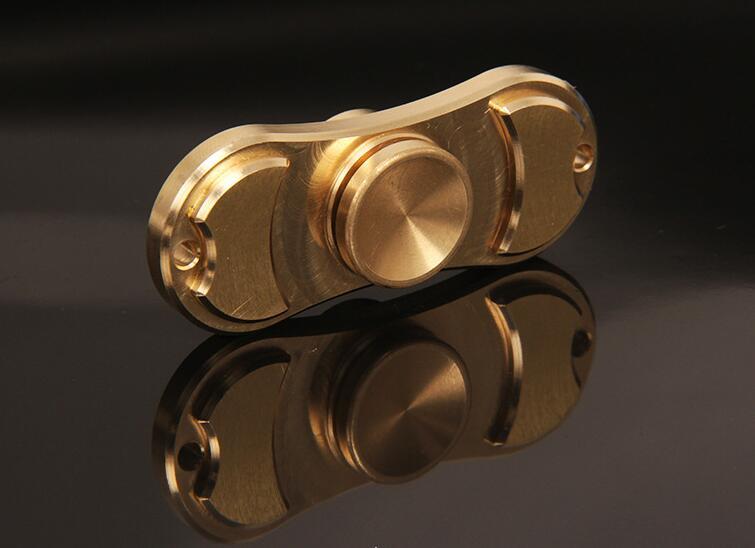 Best Fidget Toy Fingertip Gyroscope Brass Finger Spinner Kid Adult Toys High Speed Bearing Hand Spin