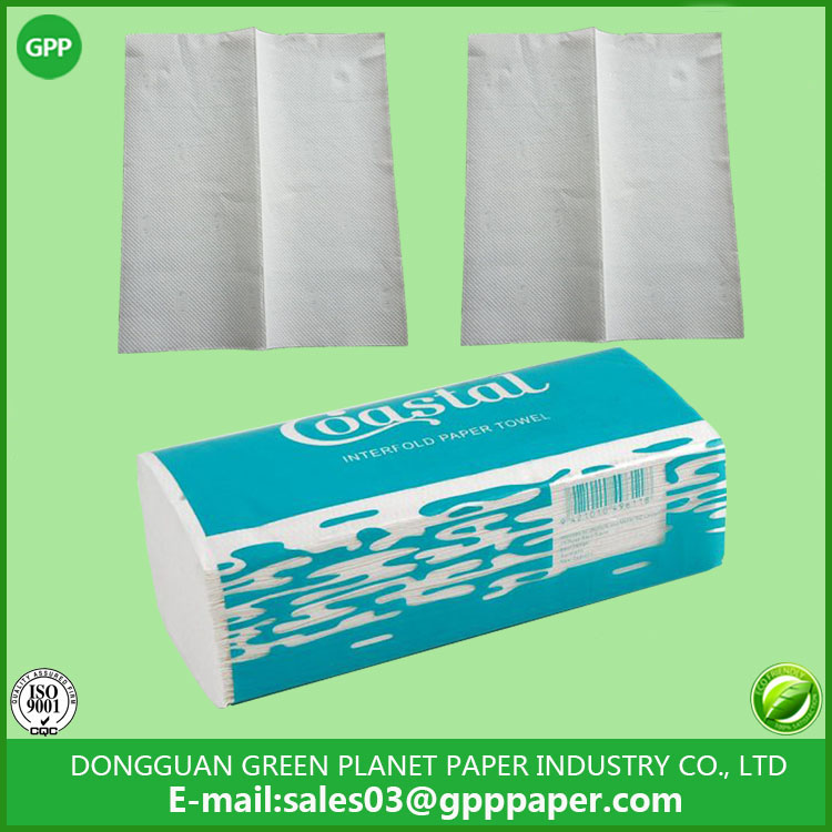 Interfold Paper Towel for New Zealand and Australia Market
