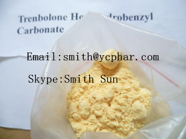 high quality 99% Trenbolone Hexahydrobenzyl Carbonate   Parabolan (Steroids) bodybuilding
