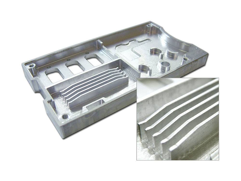 Cnc machined heatsink for Ford, Damler, AUDI, TOYOTA automotive car parts or air conditioner