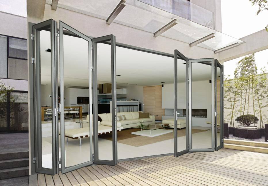 Folding sliding glass doors frameless sliding door designs alaform aluminum bi folding door systems frameless glass planetlyrics Images