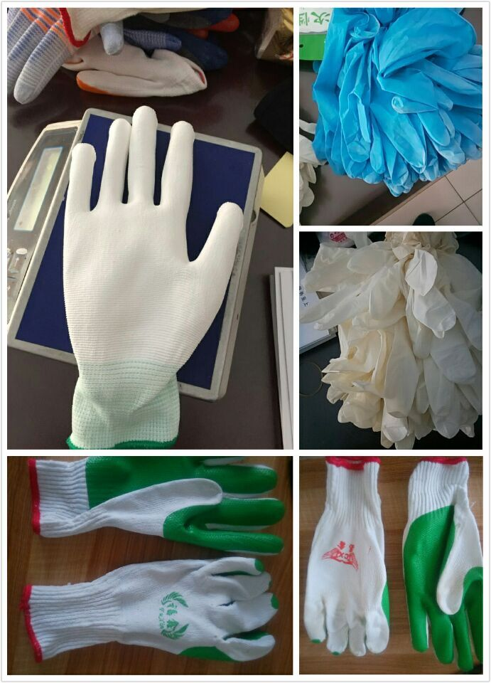 CHINESE Factory Price labor constraction hand gloves latex construction gloves