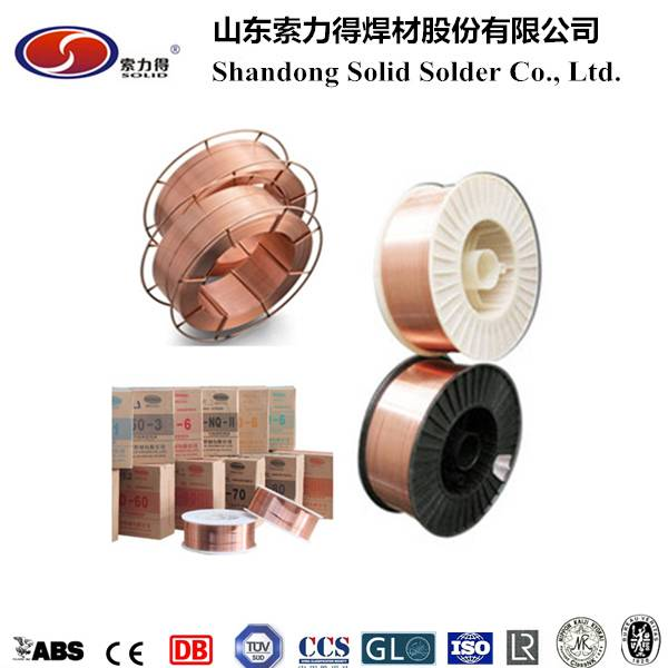 AWS A5.18 ER70S-6/SG2 mig welding wire manufacture from China ...
