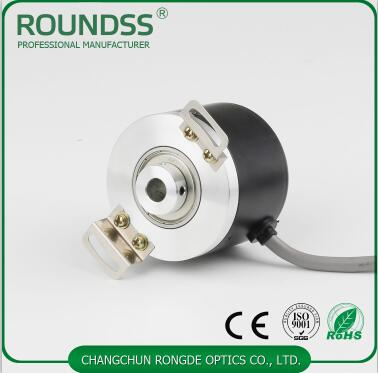 8mm hollow shaft rotary encoder DC 24V