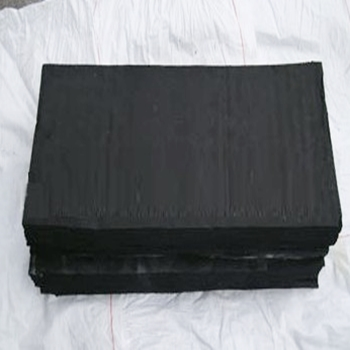 Tire reclaimed rubber in sheet form
