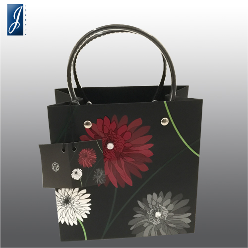 Customized packaging paper bag for FLOWERS
