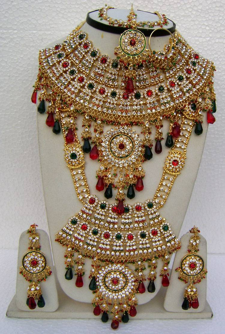 Beautiful Wedding Bridal Jewellery Set - Narbh India Incorporation