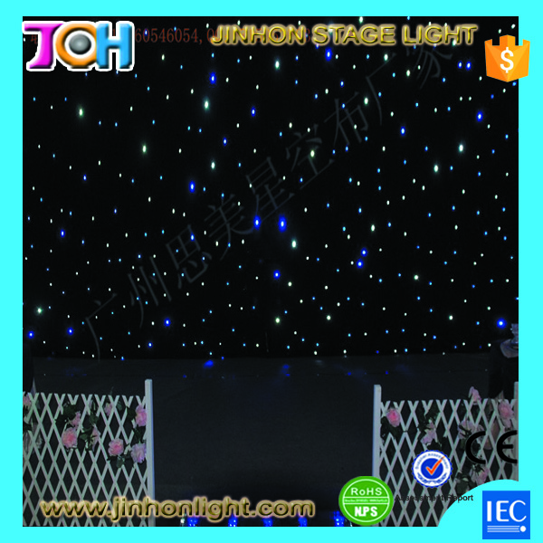 Wedding stage decoration led star curtain