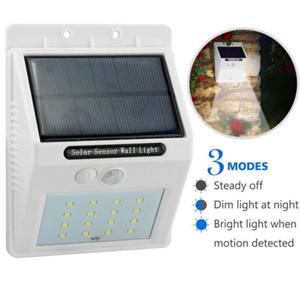 16 LED Solar Power Motion Sensor Wall Light Outdoor Waterproof Garden Yard Lamp