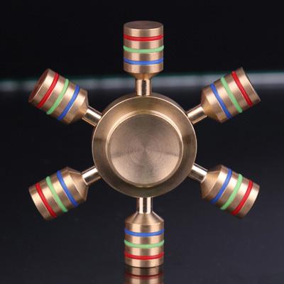 iSpin fine copper finger spinner