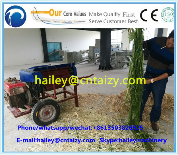 Jute Kenaf hemp fiber decorticator machine/peeling machine