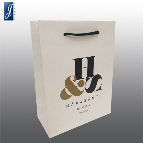 Customized medium paper bag for H&S
