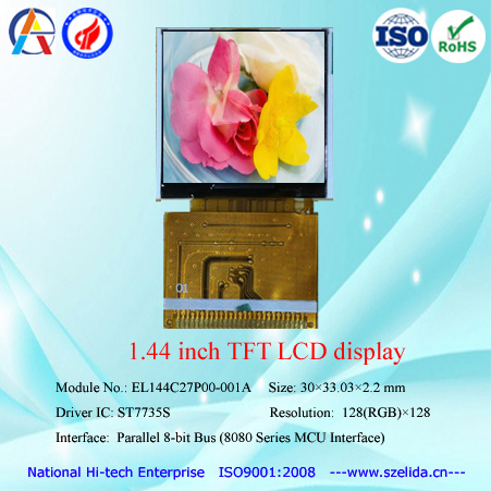 china low cost 1.44 inch color tft lcd module display 128x128