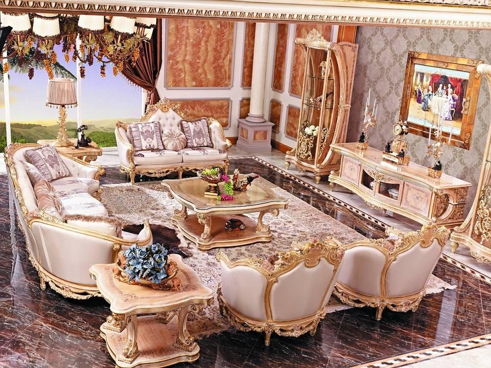 European style dining room