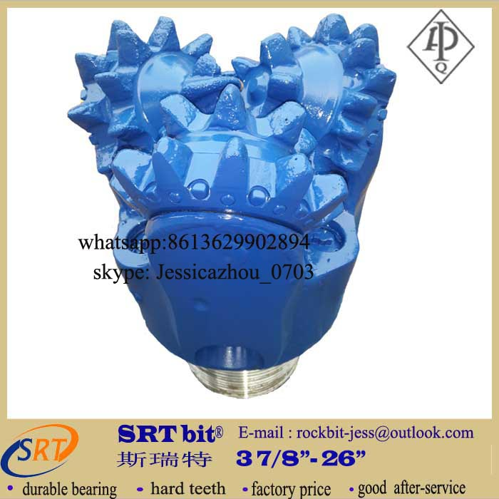petroleum well steel tooth tricone bits