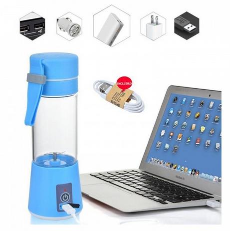 Hand Portable Electric Fruit Juice Mixer Cup Battery Automatic Milkshake Juicer Mixer Bottle