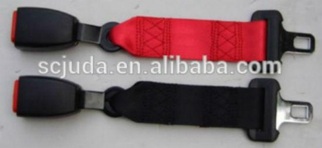 Extensioner Car Safety Belt seatbelt extender red or black
