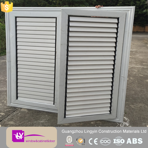 2016 customized good quality aluminium windows movable louver accessories