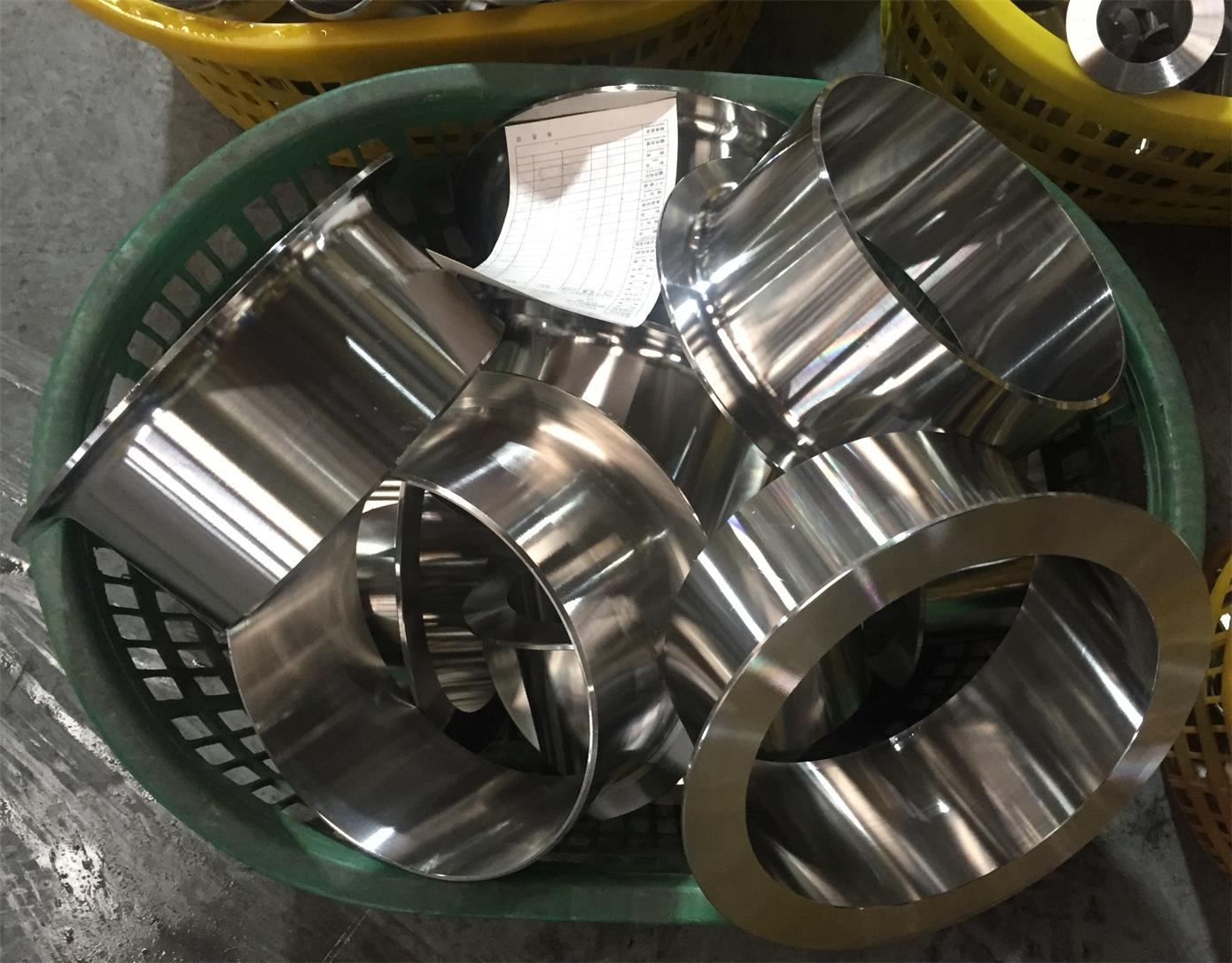BIG SIZE STAINLESS STUB END