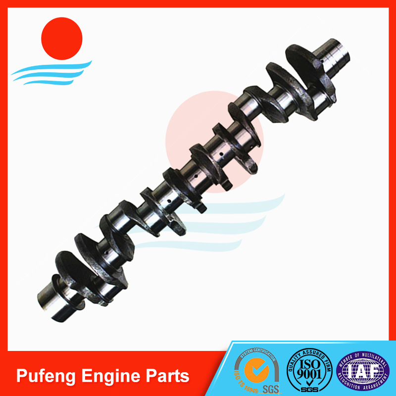 MITSUBISHI 6D40 Crankshaft, Excavator Crankshaft dealer in China