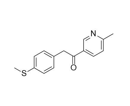 1-(6-Methylpyridin-3-yl)-2-[4-(methylthio)phenyl]ethanone (CAS NO.:221615-72-1)