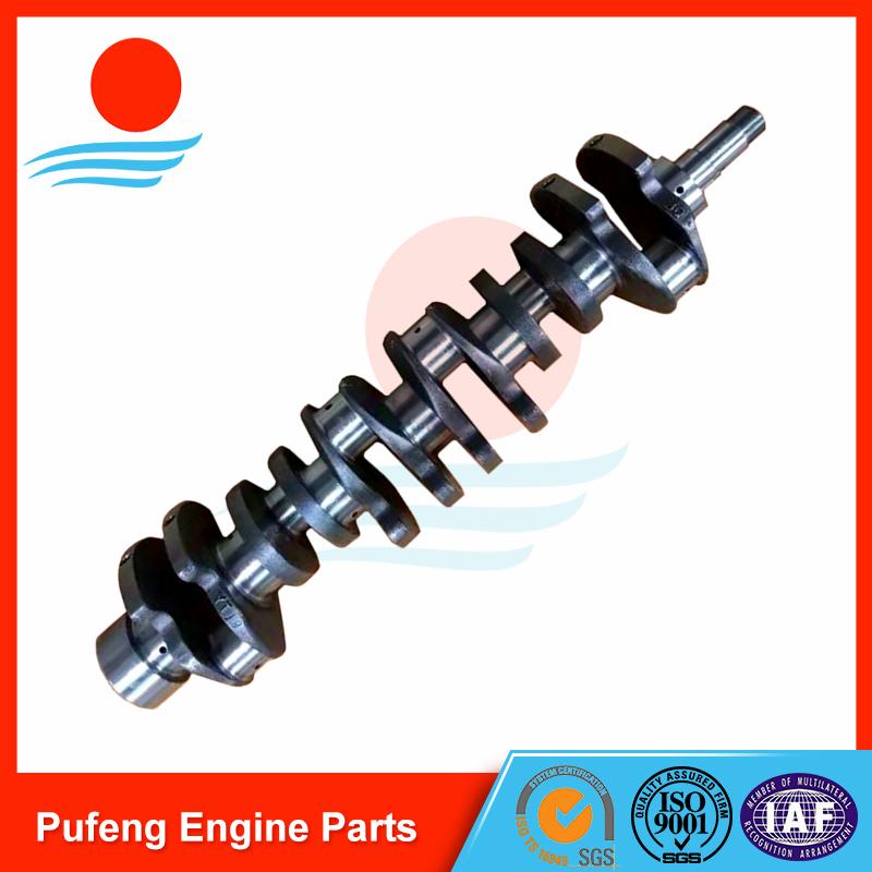 DAEWOO DB58 crankshaft 65.02101-0045A for UH07-7 DH15
