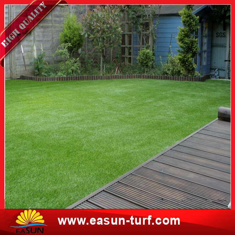 Outdoor S Shape Artifical Synthetic Turf Grass For Soccer Field-Donut