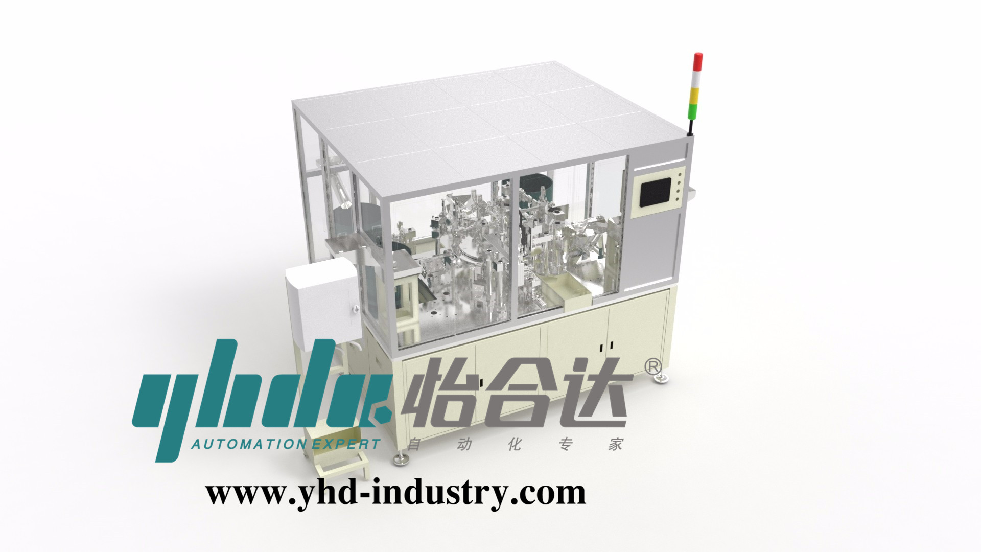 Low tension switch assembly machine