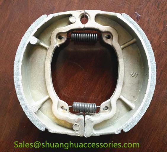 AX-100 Brake Shoe for Bajaj motorcycle,weightness of 160g,ISO9001:2008