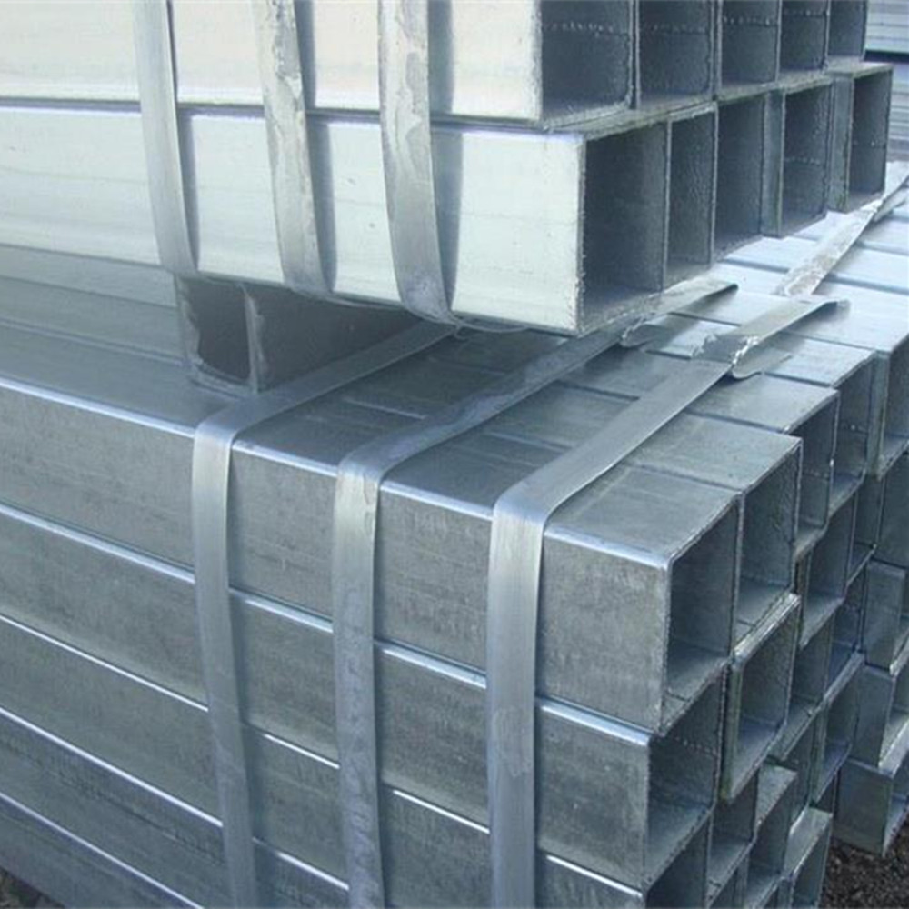 ASTM A500 Hot Dipped Galvanized and Cold Galvanized Square And Rectangular Steel Pipe Size 38x38
