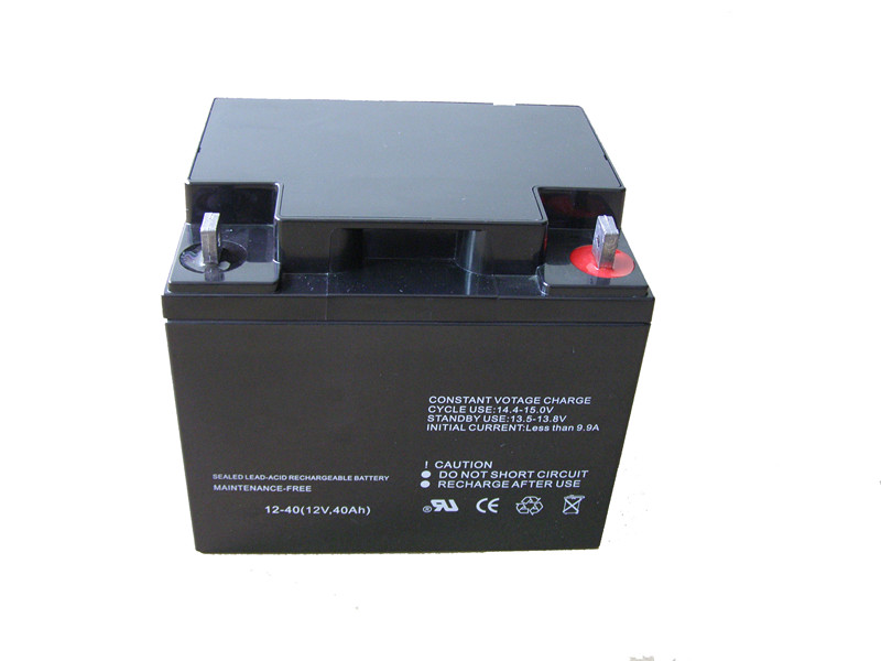 Valve-regulated rechargeable lead acid battery np12v40ah